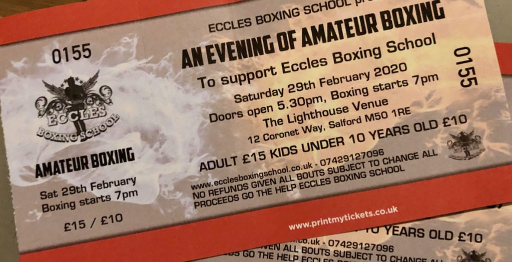 We are Sponsoring a Night of Boxing on the 29th February 2020 myWindscreen
