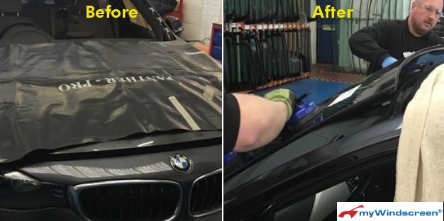 BMW Car Windscreen Replacement in Chelmsford, Essex