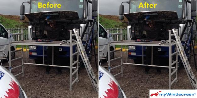 Scania P Lorry Windscreen Replacement in Maldon, Essex
