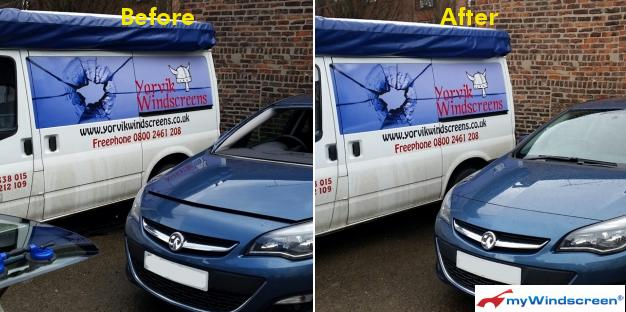 Vauxhall Astra Windscreen Replacement in York, North Yorkshire