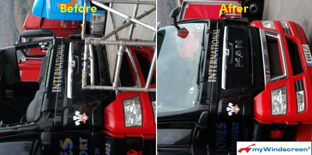 Lorry Windscreen Replacement in Abercarn, South Wales