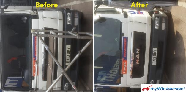 Lorry Windscreen Replacement in Newport, Wales