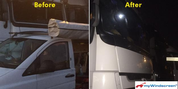 Mercedes Actros Windscreen Replacement in Dover
