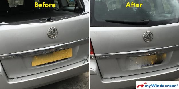 Vauxhall Zafira Rear Screen Replacement in Bath