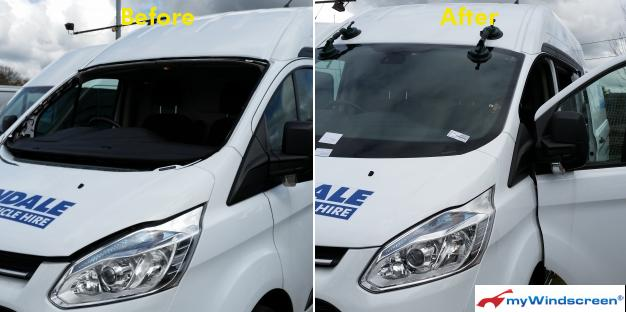 Van Windscreen Replacement in Newport, Wales