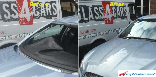 Jaguar XF Windscreen Replacement in Wimbledon, London