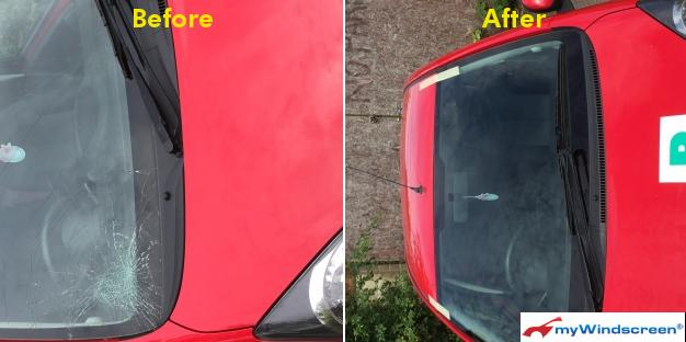 Toyota Aygo Windscreen Replacement in Leicester