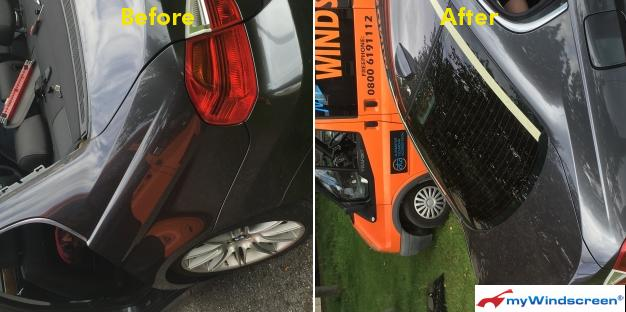 BMW Rear Window Replaced in County Durham