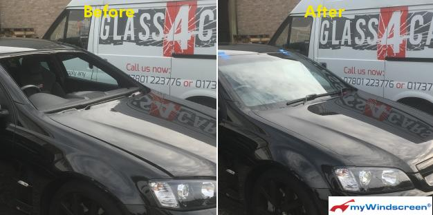 Vauxhall VXR8 Bathurst S Windscreen Replacement in Horsham