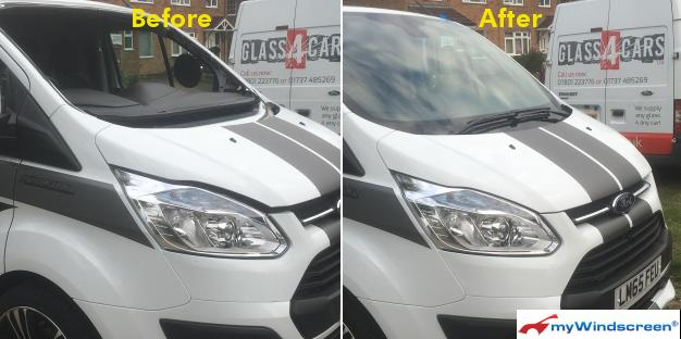 Ford Van Windscreen Replacement in Crawley, West Sussex