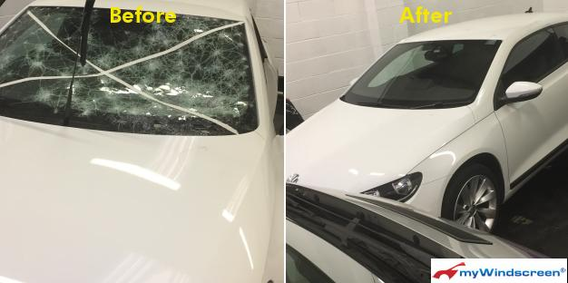 Volkswagen Scirocco Windscreen Replacement in Loughborough