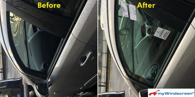 Vauxhall Corsa Passenger Door Glass Replaced in Bristol