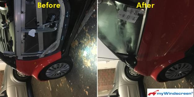 Smart Car Door Window Replacement in Bristol